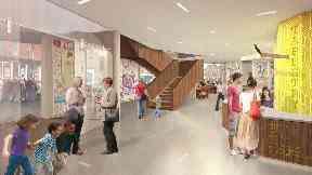 Galashiels: The new centre is expected to attract 50,000 visitors a year.