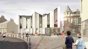 Artist impression: Ogilvie Construction has been appointed to build the centre.