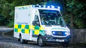 Injured: Schoolgirl struck by motorcycle.