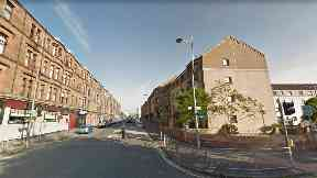 Clydebank: The girl fell from a third-floor window on Dumbarton Road.
