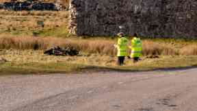 Death: The biker was pronounced dead in hospital.