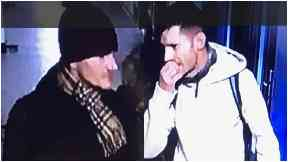 CCTV: Police believe the men can help with their enquires.