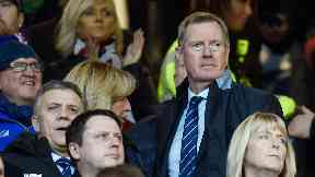 King says Rangers are moving forward.