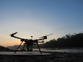The drones have gathered in around 20,000 images.