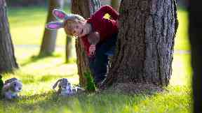 Easter fun: Egg hunts will take place across the country.