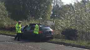 Crash: A 63-year-old man has died.