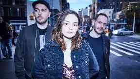 Chvrches: The band will headline on Friday.