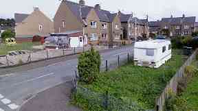 Coupar Angus: A number of items were stolen.