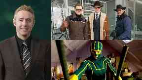 Comic book king: Mark Millar wrote Kingsman and Kick-Ass.