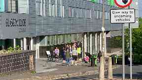 Glasgow: Lecturers will picket on Wednesday and Thursday.