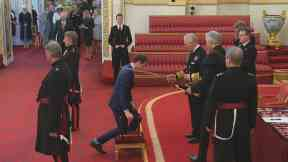 Arise Sir Andy: Tennis legend Murray collects knighthood