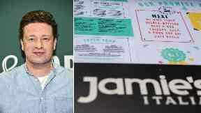 Jamie Oliver: The chef has two restaurants in Scotland.