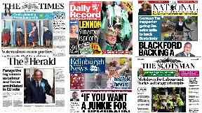 News Stand: Officers probed over sex offences, SNP surge