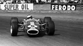Speed: Clark was a double Formula One world champion.