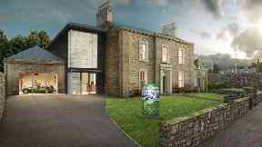 Museum: An artist's impression of what the facility will look like.