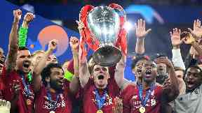 Liverpool lifted their sixth European cup this season.
