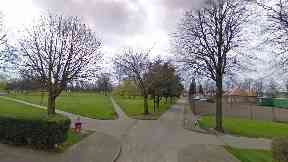 Grangemouth: The drugs were recovered at Zetland Park.