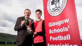 Boyd was attending the Glasgow Schools' Football Association finals.