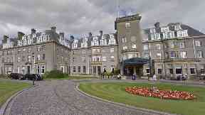 Gleneagles: The hotel hopes to build a new leisure development.