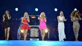 London: The Spice Girls performed at the Olympics in 2012.