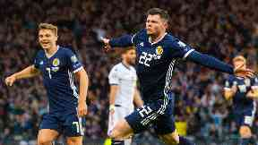 Oliver Burke came off the bench to score the winner.
