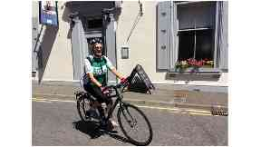 Grandmother, 81, cycling length of Britain passes halfway point