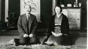 In love: Rita Cowan with Masataka Taketsuru.