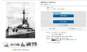 Bargain: Ship on sale for £250,000.