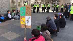 Extinction Rebellion: A day at the Holyrood protest camp
