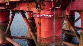 Protest: Greenpeace brought an end to stand-off.