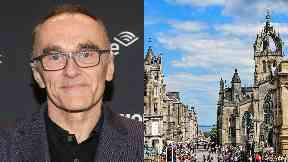 Director: Danny Boyle is in Edinburgh for the film festival.