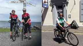 Grandmother becomes oldest person to cycle length of Britain