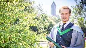Outlander star Sam Heughan receives honorary degree
