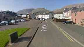 Tillicoultry: The injured man was found in Park Street.