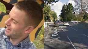 Biker: James Lynagh died in a crash on Saturday.