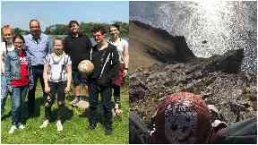 Wilson: German teens with basketball from St Kilda.