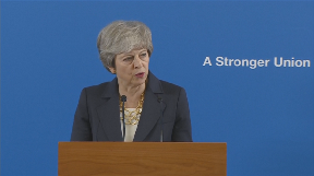Theresa May: Union can have 'bright and prosperous future'.