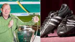 Lisbon Lion goalscorer's boots sold for £18,000 at auction