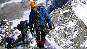 Tributes: Martin Moran went missing while climbing the Himalayas.