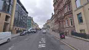 Glasgow: The woman was assaulted on West George Street.