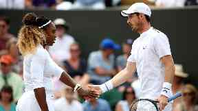 Partnership: Williams and Murray lost to top seeds.