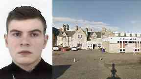 Edinburgh: Leon Fleming disappeared after leaving Almond House Lodge.