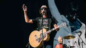 Festival: Richard Ashcroft played a selection of fan favourites.