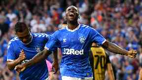 Sheyi Ojo scored Rangers' second goal.