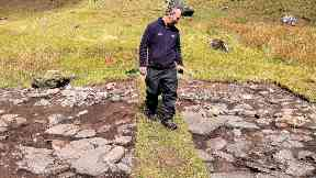 Discovery: Military maps from the 18th century show six settlements in total through the glen.