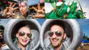 Out of this world: The festival's theme this year was sci-fi.
