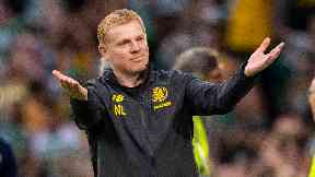 Neil Lennon is aiming to guide Celtic to the group stages.