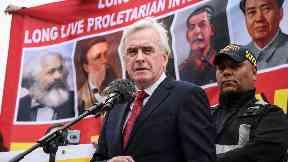 Labour: Shadow chancellor John McDonnell.