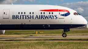 British Airways: Flights have been cancelled.