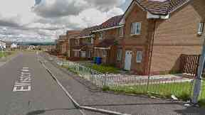 Glasgow: A 76-year-old man was seriously injured.